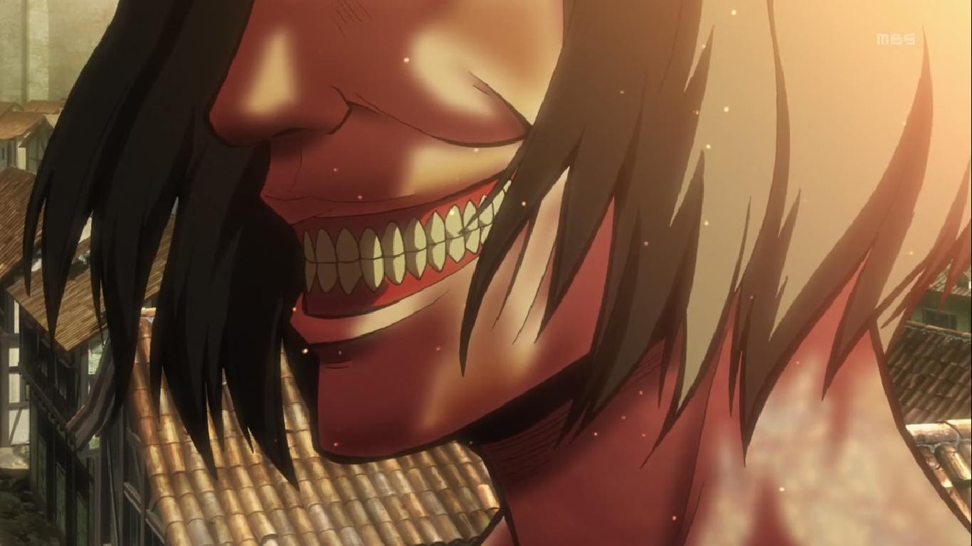 Why are titans always smiling ? : ShingekiNoKyojin