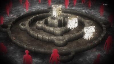 Shingeki no Kyojin wall